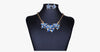 Enamel Flower Statement Necklace Set - FREE SHIP DEALS