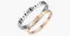Rome Number Engraved Bracelet