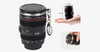 Mini SLR Camera Lens Shot Glass with Keychain - FREE SHIP DEALS