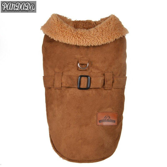 Small Dogs Chihuahua Outfits Jacket Fleece Pet Clothes Vest Dog Coat