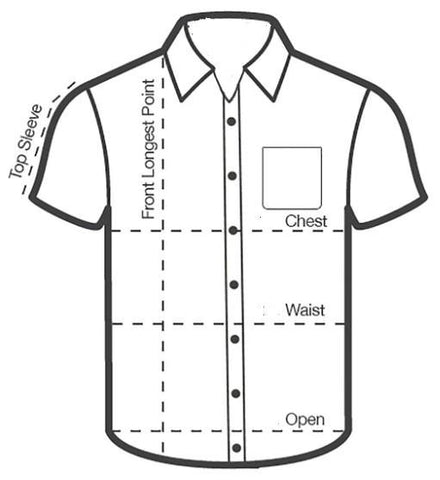 Mens Sizing Front