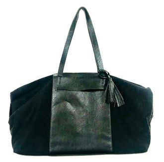 Moana Road - Akaroa Overnight Bag- Black