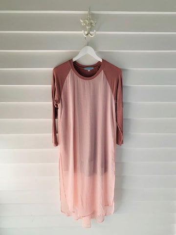 Bridget Mathewson - Charlie Dress -Dusky Pink