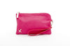 Home Lee Clutch - Raspberry Pink