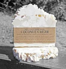 The Crafty Chook - Wild Child Scrub Bars - Coconut Cream