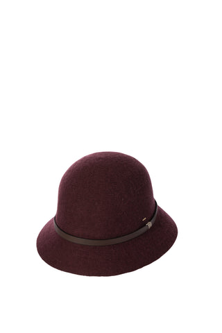 Ladies Bucket Hat - Phillipa Wine