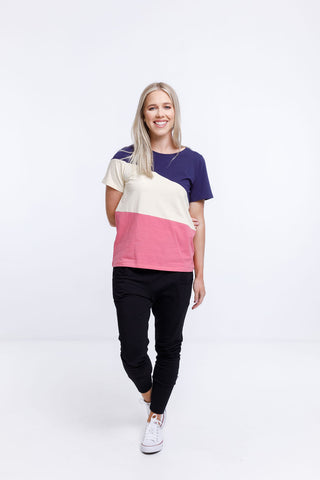 Home Lee - Block Colour Taylor Tee