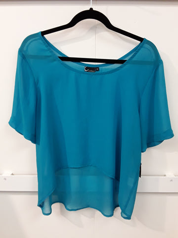 Cashews - Crop Top Georgette