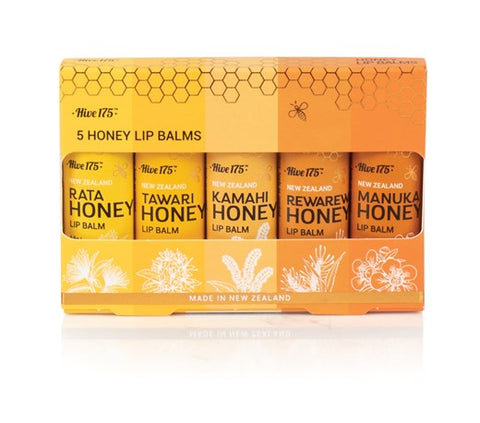 Hive 175  lipbalm 4.5g pack of 5