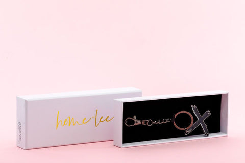 Home Lee Keyring - Black cross