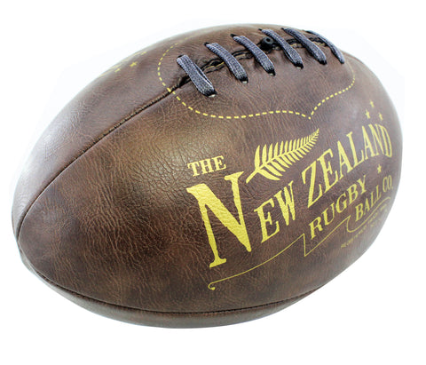 Moana Road - Antique Rugby Ball