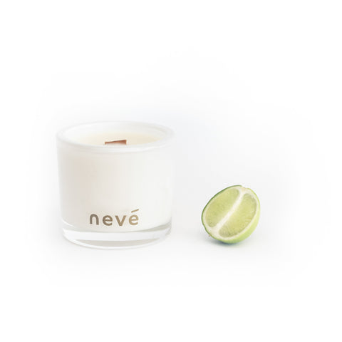 Neve - Kowhai Blossom + Lime -  Candle (Medium)