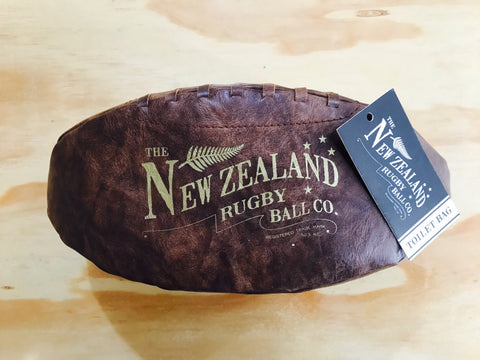 Moana Road - Rugby Ball - Toilet Bag