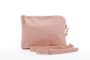 Home Lee Oversized Clutch - Blush