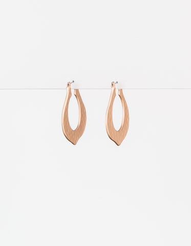 Matt Gold Baroque Earrings