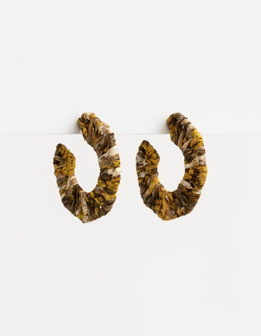 Stella + Gemma  Snake Hex Earrings