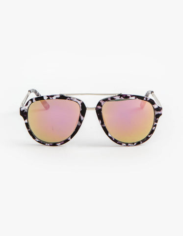 Stella+Gemma Sunglasses - Kitty Black/White SGEYE303