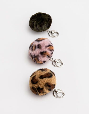 Stella + Gemma - Fur Ball keyrings