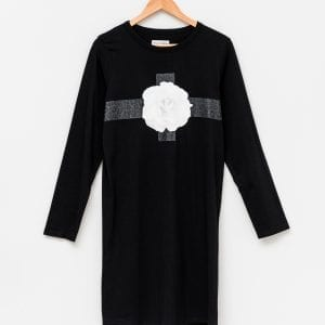 Stella+Gemma - Jollie Dress - Black with Fierce Floral