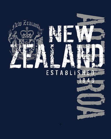 Tee shirt - Navy Coat of Arms