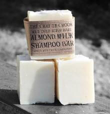 The Crafty Chook - Almond Milk Shampoo Bar