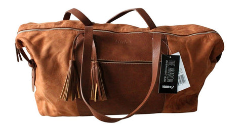 Moana Road - Akaroa Overnight bag - Tan