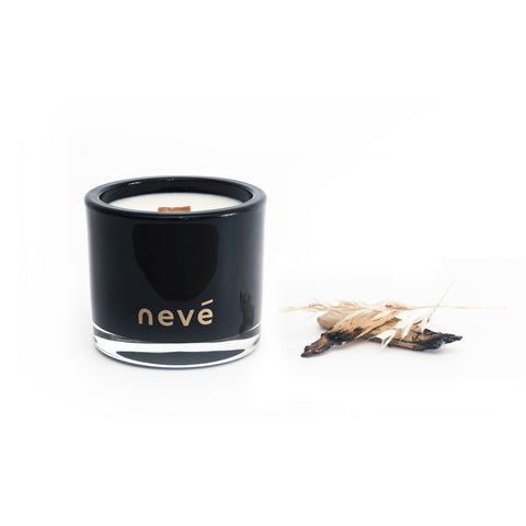 Neve - Whiskey + Wood Smoke -  Candle (Medium)