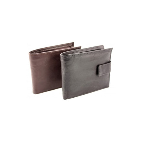 Baron Leathergoods - Black mens wallet- 7289