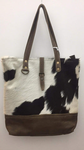 Malina cowhide Leather Tote large