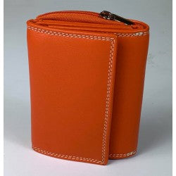 Baron Leathergoods - Baron leather wallet- Orange 51406-8