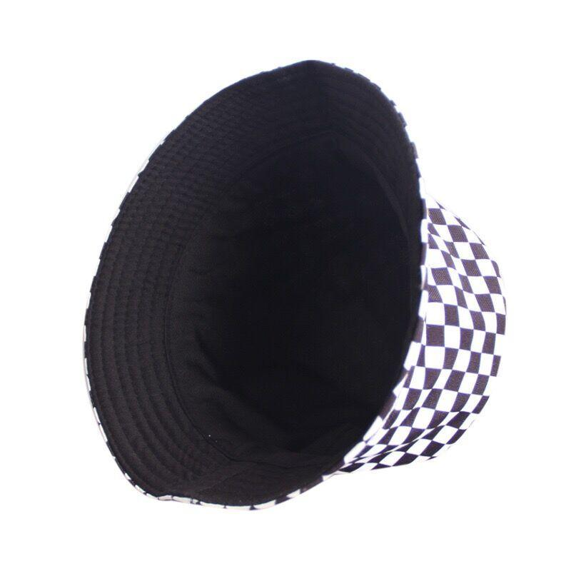 Bestkawaii-Checkered-Bucket-Hat