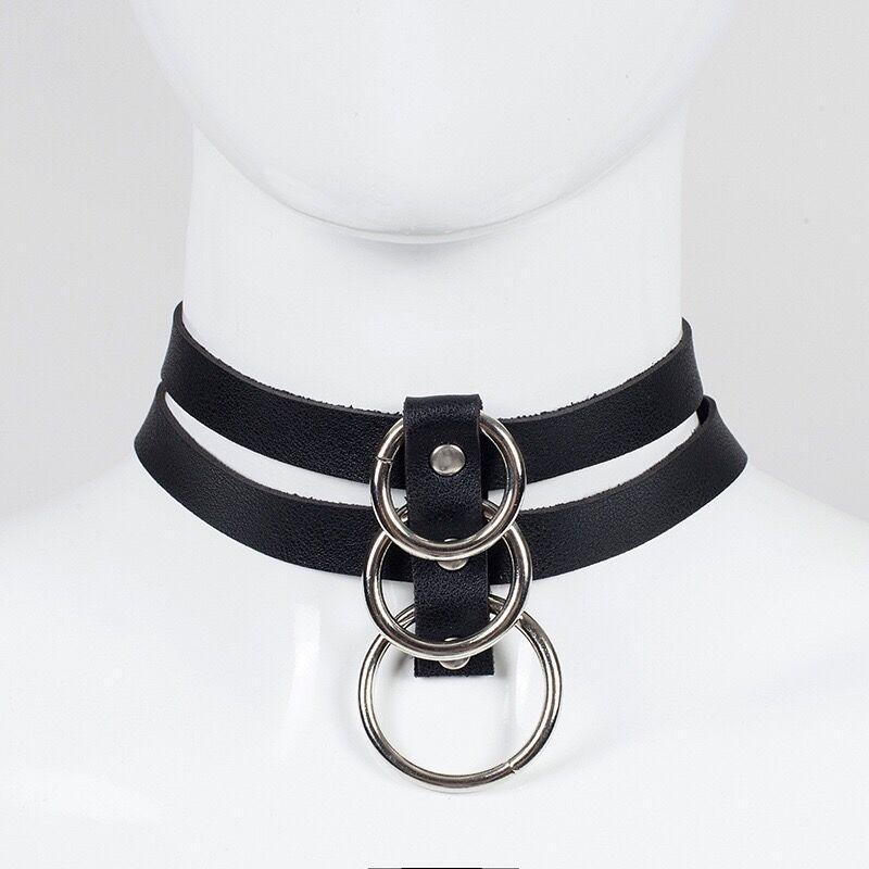Bestkawaii-Double-Layer-O-Ring-Choker