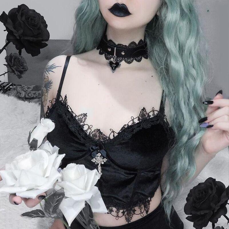 Bestkawaii-Lace-Velvet-Bra-Top