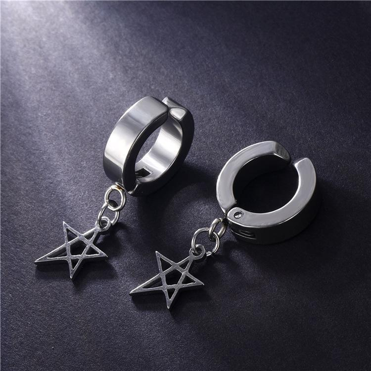 Pentagram Earrings