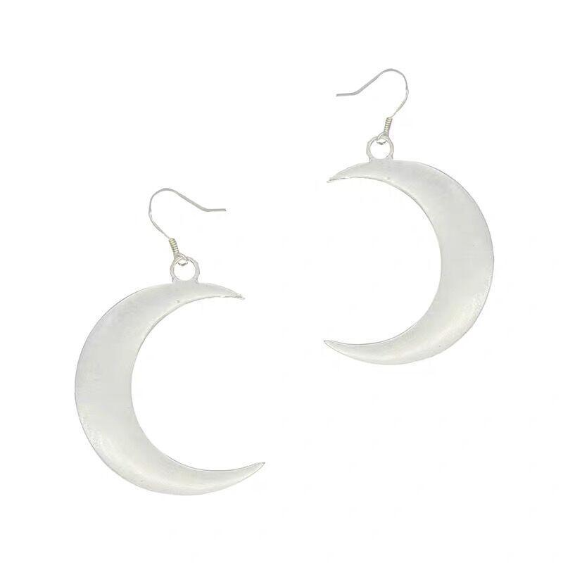 Bestkawaii-wiccan-crescent-moon-earrings