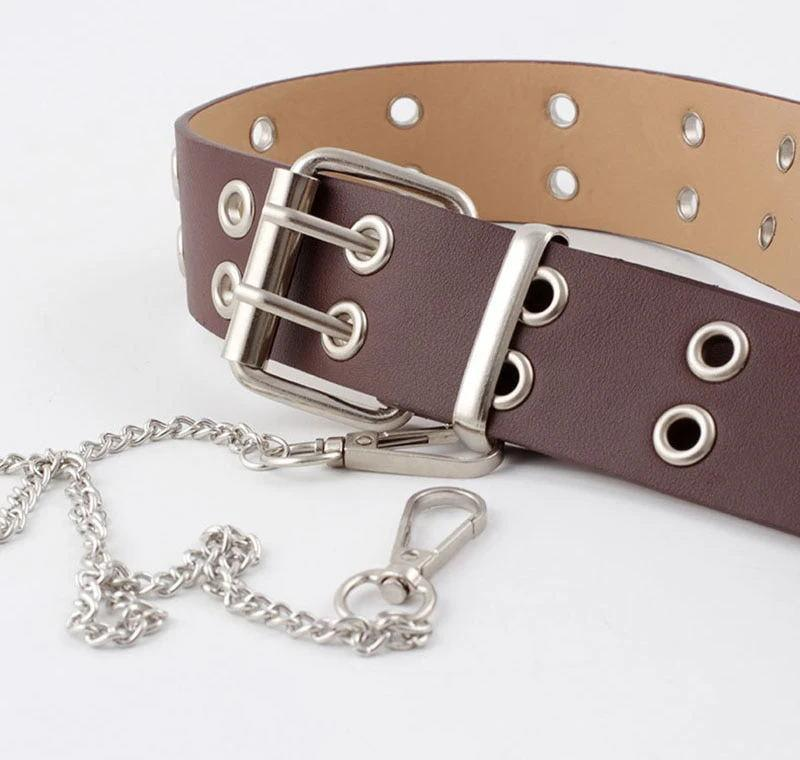PIN BUCKLE BELT