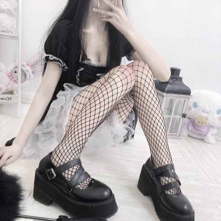 Fishing Net Tights Socks