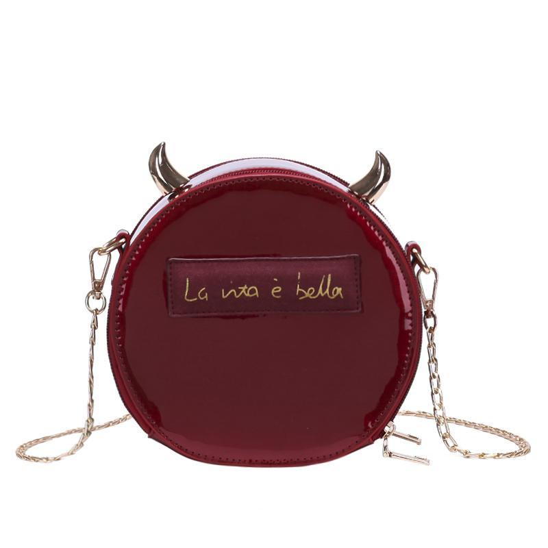 Shinning Horn Little Devil Bag