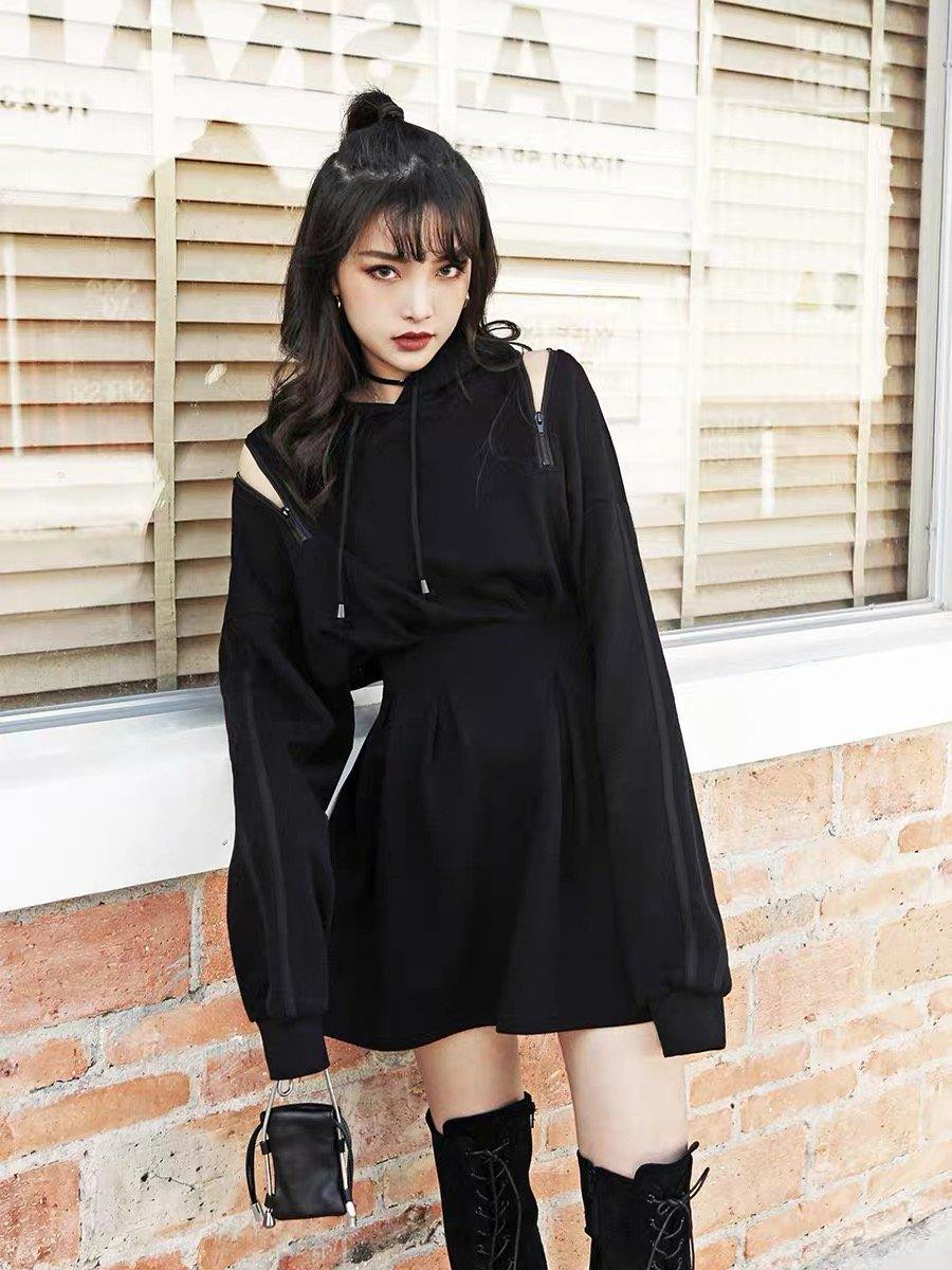BestKawaii-Sweatshirt -Slim -Dress