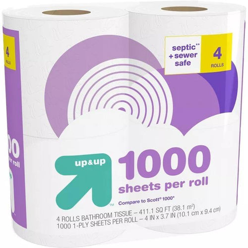Make-a-Size Paper Towels up /& up 24 Rolls 84ct 2-Ply per roll