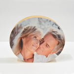 Personalize Oval Wood