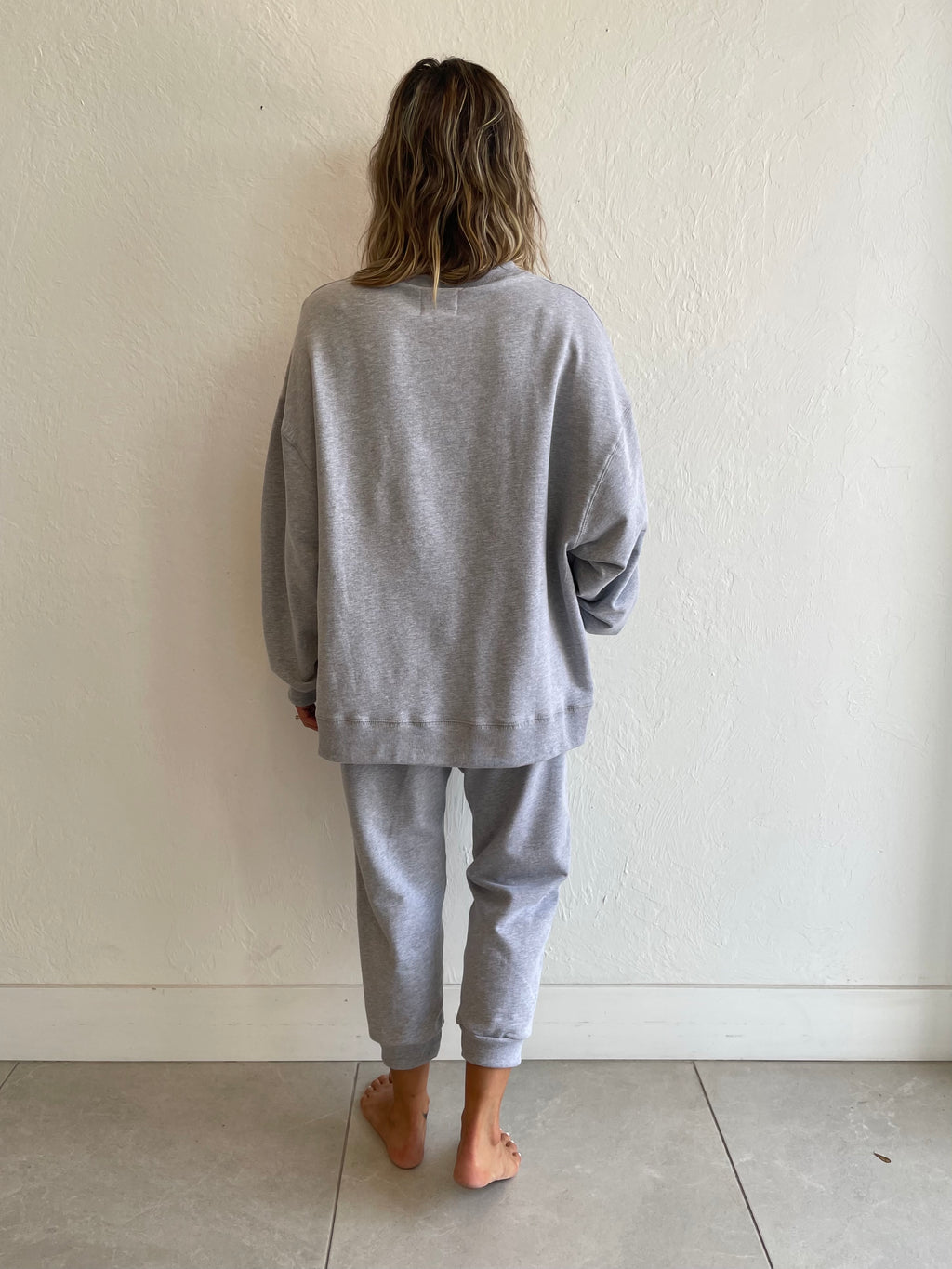 Neil Sweatshirt / Heather Grey
