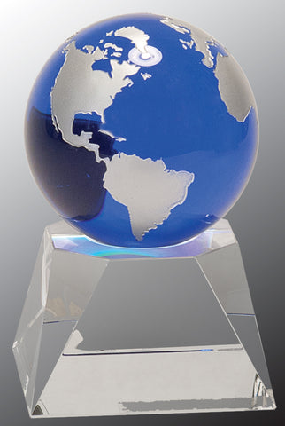 Crystal Blue Globe - AwardsPlusGI