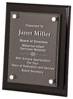 Floating Acrylic Plaque - AwardsPlusGI