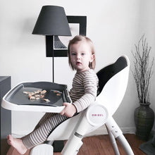 Load image into Gallery viewer, Baby using Oribel Cocoon High Chair Slate