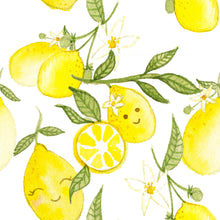 Load image into Gallery viewer, BapronBaby Fresh Squeeze Lemon Splash Mat