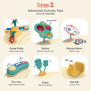 Monsterland Adventures - Stage 2 Toys