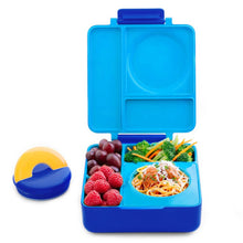Load image into Gallery viewer, Omielife Omiebox Blue Sky with Lid and Food