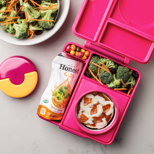 Omielife Omiebox Pink Berry with Food