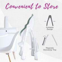 Load image into Gallery viewer, Oribel Cocoon High Chair Convenient to Store